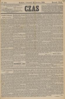 Czas. R.42, Ner 134 (13 czerwca 1889)