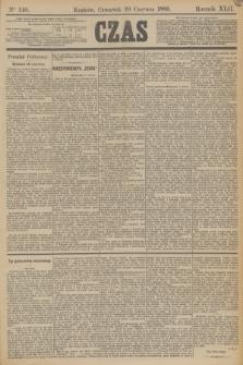 Czas. R.42, Ner 140 (20 czerwca 1889)