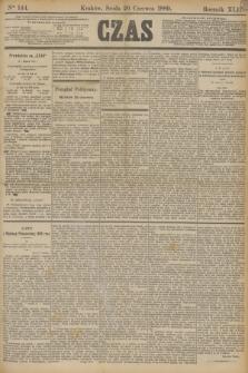 Czas. R.42, Ner 144 (26 czerwca 1889)