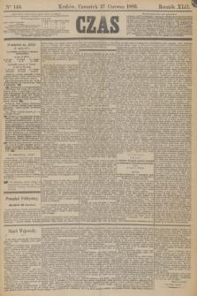 Czas. R.42, Ner 145 (27 czerwca 1889)