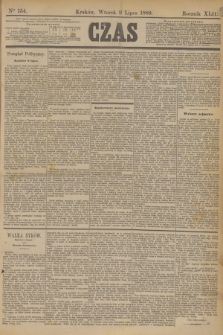 Czas. R.42, Ner 154 (9 lipca 1889)