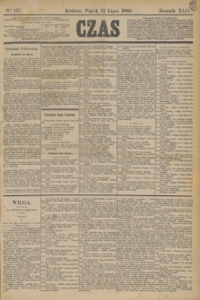 Czas. R.42, Ner 157 (12 lipca 1889)