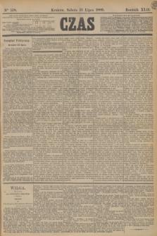 Czas. R.42, Ner 158 (13 lipca 1889) + dod.