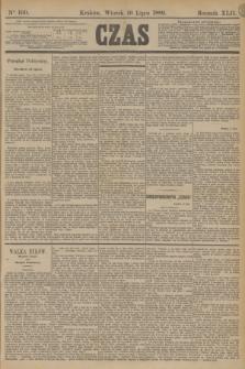 Czas. R.42, Ner 160 (16 lipca 1889)