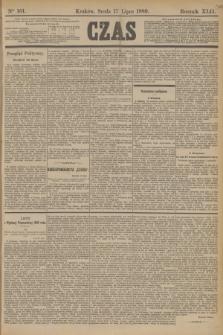 Czas. R.42, Ner 161 (17 lipca 1889)