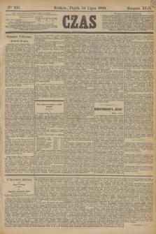 Czas. R.42, Ner 163 (19 lipca 1889)
