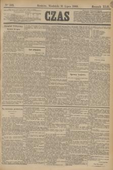Czas. R.42, Ner 165 (21 lipca 1889)
