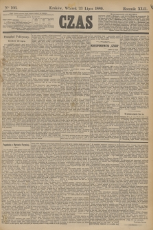 Czas. R.42, Ner 166 (23 lipca 1889)