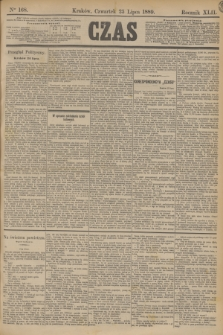 Czas. R.42, Ner 168 (25 lipca 1889)
