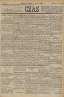 Czas. R.42, Ner 170 (27 lipca 1889)