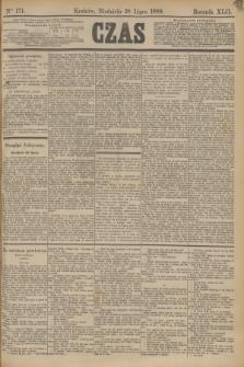 Czas. R.42, Ner 171 (28 lipca 1889)
