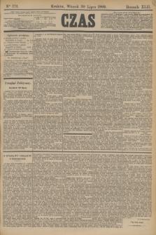 Czas. R.42, Ner 172 (30 lipca 1889)