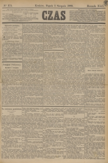 Czas. R.42, Ner 175 (2 sierpnia 1889)