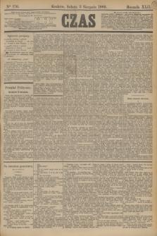 Czas. R.42, Ner 176 (3 sierpnia 1889)
