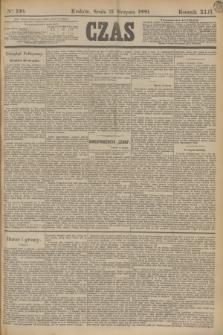 Czas. R.42, Ner 190 (21 sierpnia 1889)