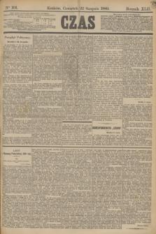 Czas. R.42, Ner 191 (22 sierpnia 1889)