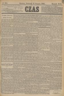 Czas. R.42, Ner 194 (25 sierpnia 1889)