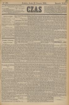 Czas. R.42, Ner 196 (28 sierpnia 1889)