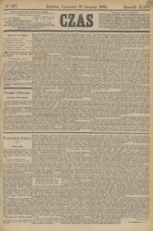 Czas. R.42, Ner 197 (29 sierpnia 1889)