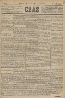 Czas. R.42, Ner 200 (1 września 1889)