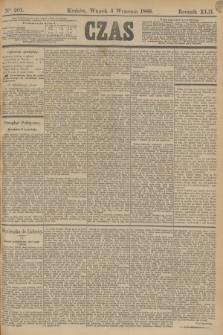 Czas. R.42, Ner 201 (3 września 1889)