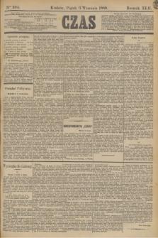 Czas. R.42, Ner 204 (6 września 1889)