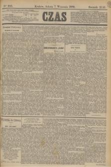 Czas. R.42, Ner 205 (7 września 1889)
