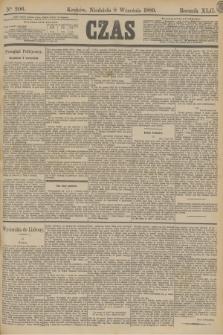 Czas. R.42, Ner 206 (8 września 1889)