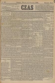 Czas. R.42, Ner 207 (10 września 1889)