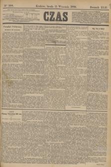 Czas. R.42, Ner 208 (11 września 1889)