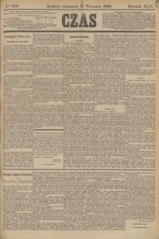 Czas. R.42, Ner 209 (12 września 1889)