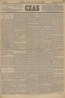 Czas. R.42, Ner 211 (14 września 1889)