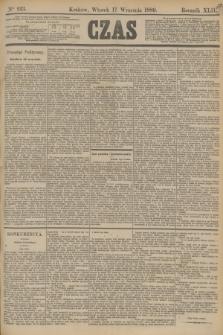 Czas. R.42, Ner 213 (17 września 1889)