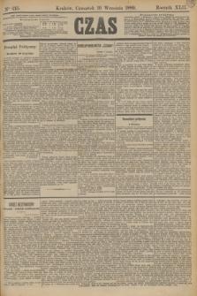 Czas. R.42, Ner 215 (19 września 1889)