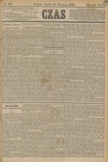 Czas. R.42, Ner 216 (20 września 1889)