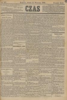 Czas. R.42, Ner 217 (21 września 1889)