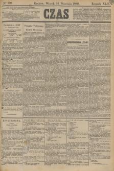 Czas. R.42, Ner 219 (24 września 1889)