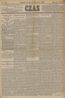 Czas. R.42, Ner 220 (25 września 1889)