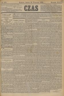 Czas. R.42, Ner 223 (28 września 1889)