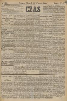 Czas. R.42, Ner 224 (29 września 1889)
