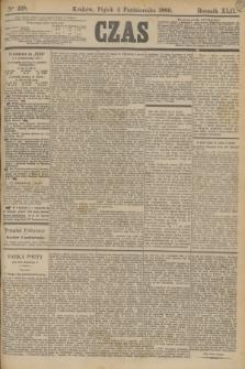 Czas. R.42, Ner 228 (4 października 1889)