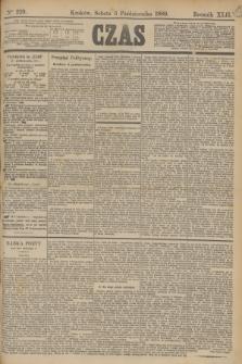 Czas. R.42, Ner 229 (5 października 1889)