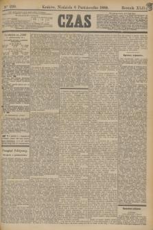 Czas. R.42, Ner 230 (6 października 1889)