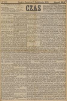 Czas. R.42, Ner 233 (10 października 1889)
