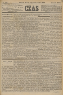 Czas. R.42, Ner 235 (12 października 1889)