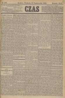 Czas. R.42, Ner 236 (13 października 1889)