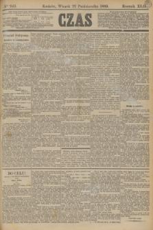 Czas. R.42, Ner 243 (22 października 1889)