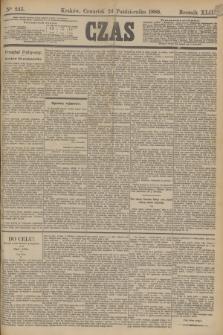 Czas. R.42, Ner 245 (24 października 1889)