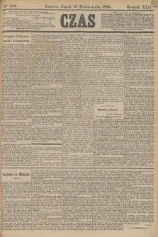 Czas. R.42, Ner 246 (25 października 1889)
