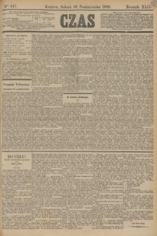 Czas. R.42, Ner 247 (26 października 1889)